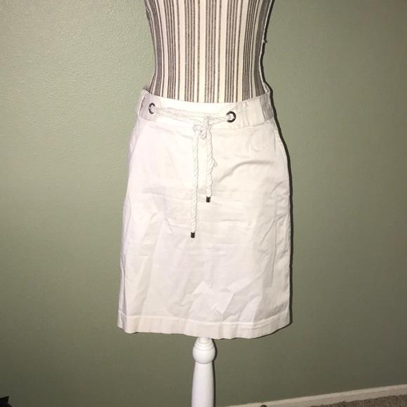 Banana Republic Dresses & Skirts - Banana Republic Cream Skirt